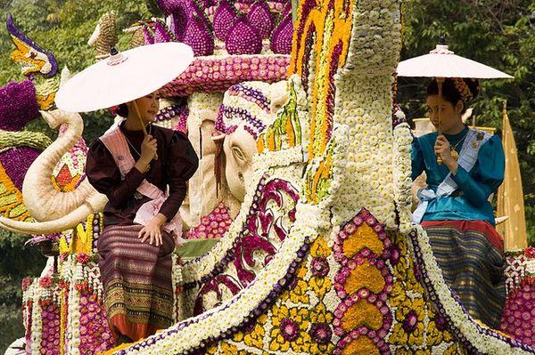 Фестиваль цветов в Чианг Май