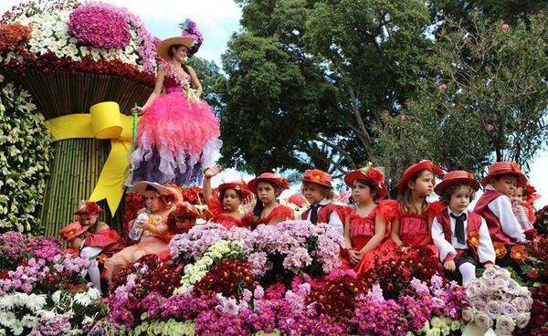фестиваль цветов португалия