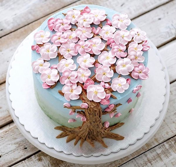 торт с цветами фото от ivenoven