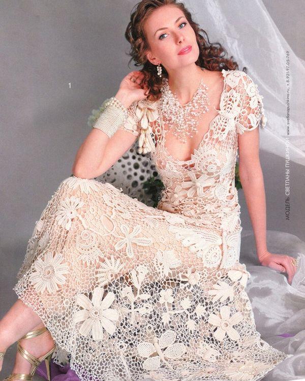 ирландское кружево свадебное платье