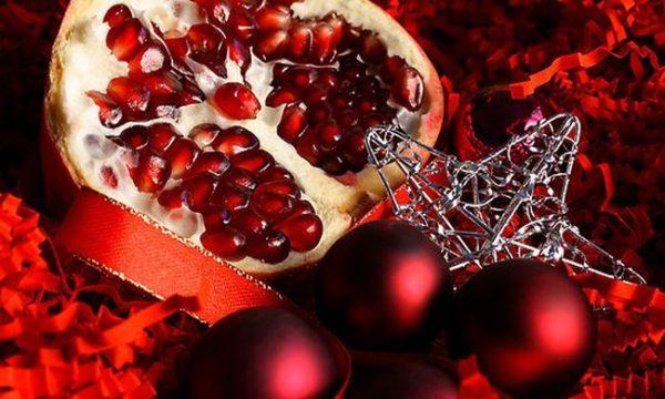 гранат новогодний