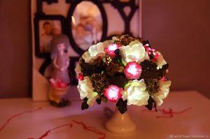 цветы светильники миниатюра