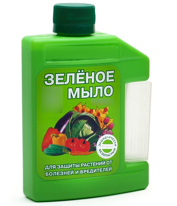 зеленое мыло